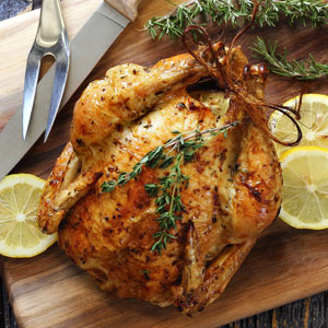 easy paleo recipe for lemon roasted chicken