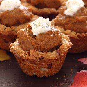 Paleo Party Pumpkin Pie Cups Recipe