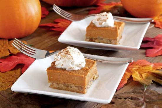 simple paleo recipe for pumpkin pie bar