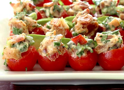 Paleo BLT Party Platter Bites