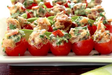 Easy Paleo recipe for BLT bites appetizer