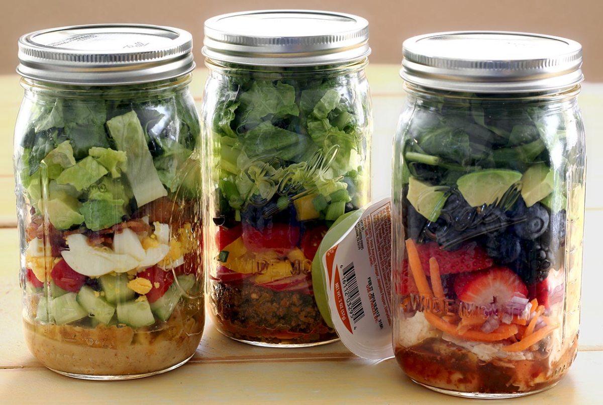 paleo lunch in a jar