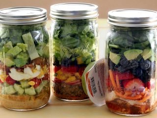 Make-Ahead Mason Jar Paleo Salads