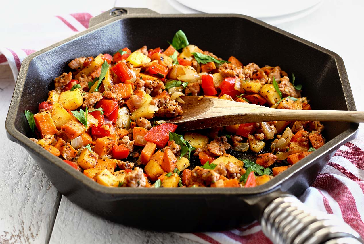 how to make paleo potato hash