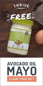 Thrive Market Free Avocado Oil Mayo