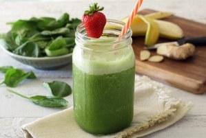 easy paleo green smoothie recipe - no added sugar