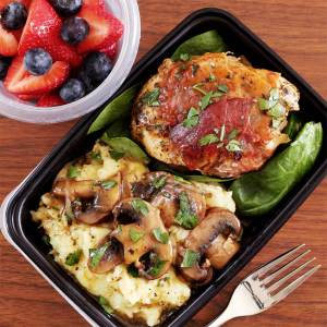 this prosciutto chicken recipe makes for a great paleo lunch idea the next day