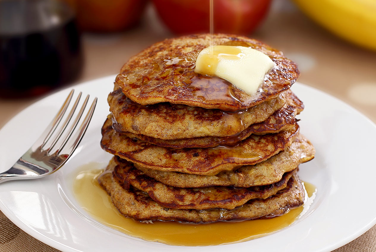 Paleo Apple-Cinnamon Pancakes Recipe | Paleo Newbie
