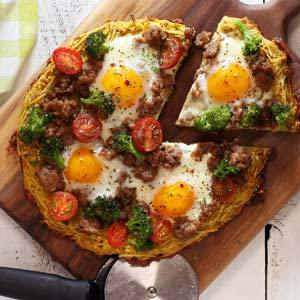 Paleo and Gluten-Free Breakfast Pizza Recipe
