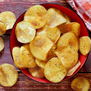 simple DIY paleo potato chips
