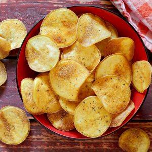simple DIY paleo potato chips