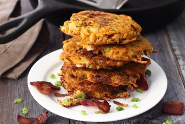 simple paleo recipe for sweet potato fritters