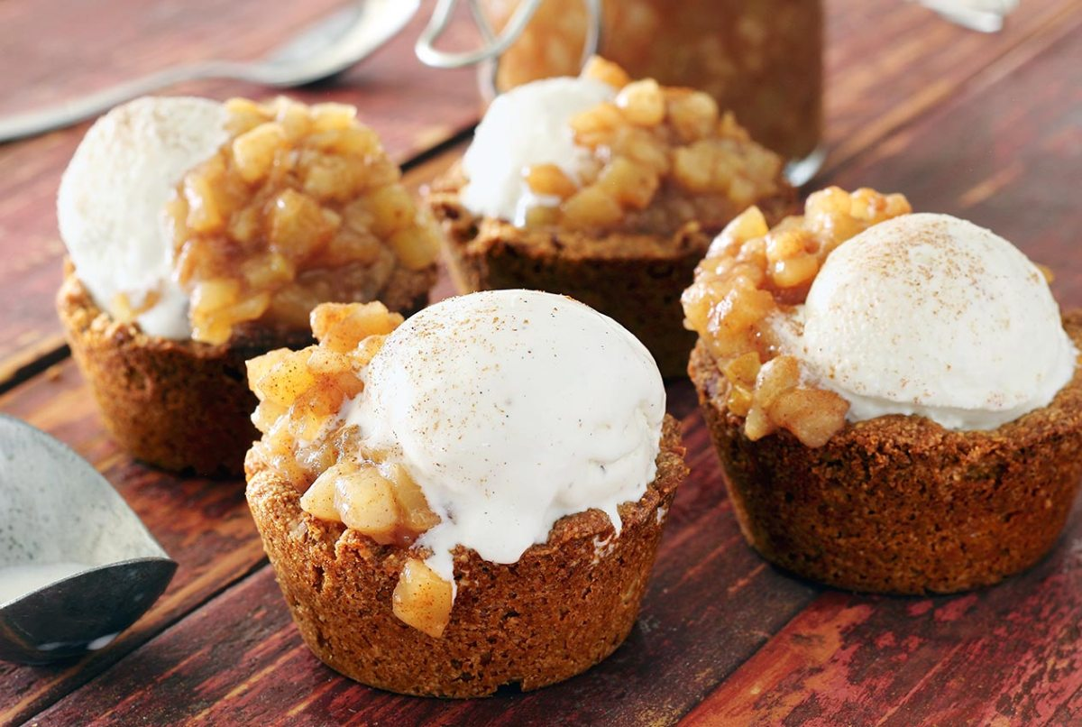 easy paleo apple-pear pie cups recipes