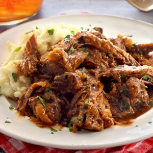 paleo Italian Pot Roast with potatoes recipe
