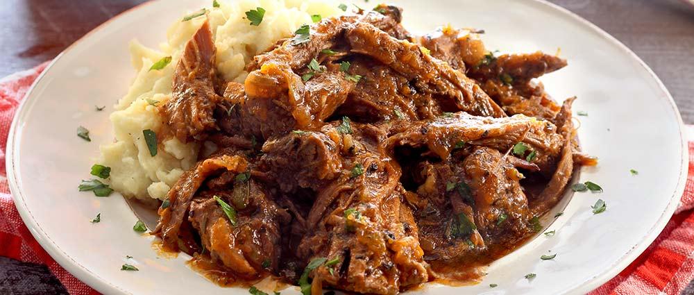 slow cooked paleo Italian pot roast recipe
