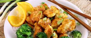 easy paleo recipe for Asian orange chicken takeout style