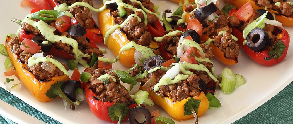 paleo mini stuffed peppers appetizers recipe