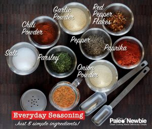 simple paleo and gluten free seasoning mix