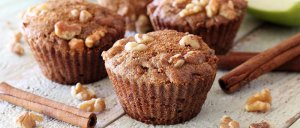 easy paleo recipe for apple and nut gluten free muffins