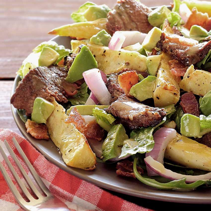 Paleo steak and potato salad