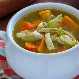 easy paleo and gluten free recipe for turkey and vegetable soup