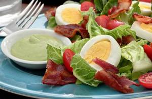 easy recipe for a paleo and gluten-free tangy avocado dressing