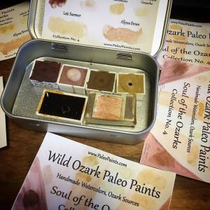 The paint colors in my Soul of the Ozarks Collection No. 4