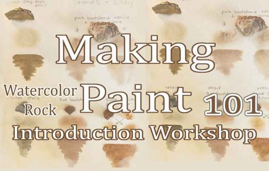 How to Make Watercolor Paint 101, a workshop with Madison Woods of Wild Ozark Paleo Paints.