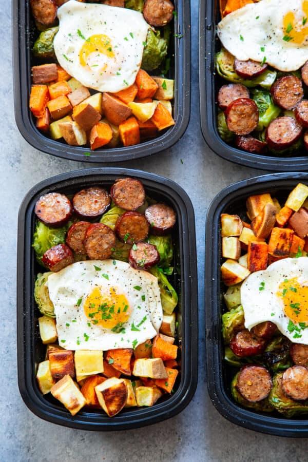 Paleo Breakfast Meal Prep Bowls