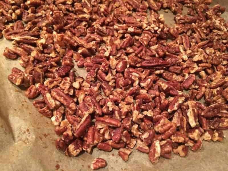 Maple Bacon Pecans   Paleo Scaleo