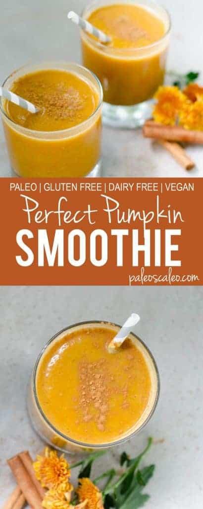 Perfect Pumpkin Smoothies | PaleoScaleo.com