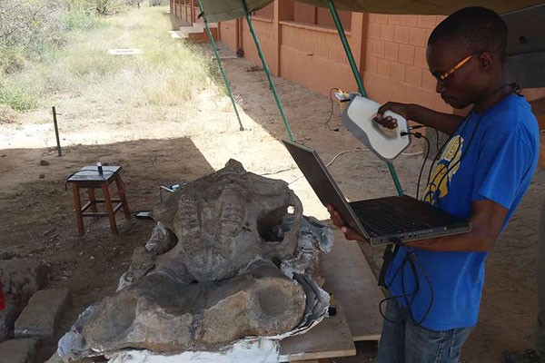 On the News | Kenya | Discovery: Elephant fossil found in Turkana @ The East African