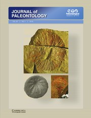 Just out | New Journal of Paleontology Issue with 12 New Paleontological Papers (Cambrian)