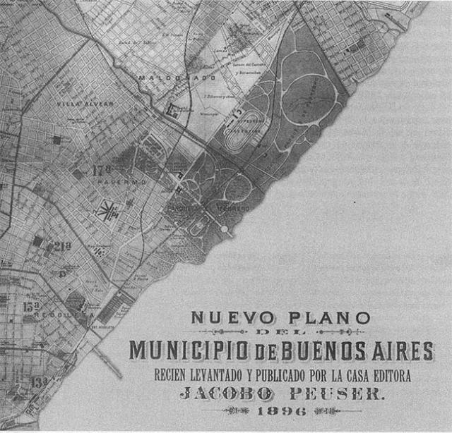 Plano del Municipio de Buenos Aires