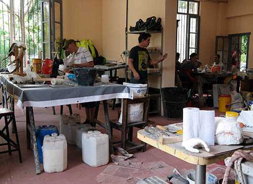 Sala de Restauración del MOA