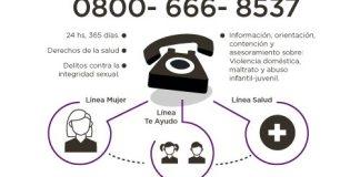 Denuncias de Violencia doméstica y/o sexual