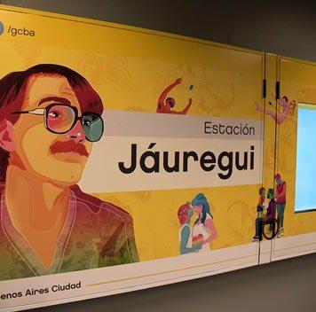 La estación de la Línea H pasó a llamarse SANTA FE - CARLOS JÁUREGUI