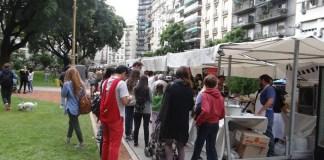 Feria de Pascua y Pesaj en la Plaza Vicente López