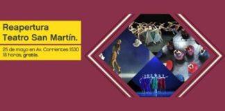 Reapertura del Teatro San Martín