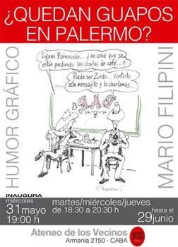 """Muestra de Humor Grafico """"Guapos porteños"""" y el """"Bicentenario"""" - Armenia 2150"""