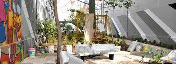 Inicio de obra en el Patio Urbano Paraguay