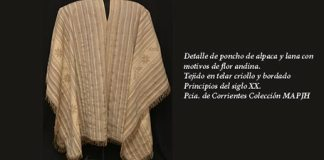 """El Museo Hernández presenta """"Ponchos en el Bicentenario"""""""