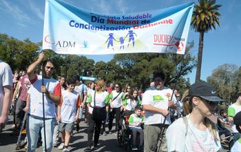 """Caminata """"Sumate a nuestro Sueño, un Mundo sin Distrofia Muscular"""" en Palermo"""