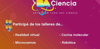 BA Ciencia: Anotate en los Talleres Gratuitos
