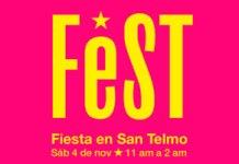 FeST 2017 Fiesta en San Telmo el próximo sábado 4/11