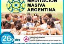 Meditación Masiva (Buenos Aires, Argentina) y en todo el planeta