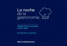 Noche de la Gastronomía - 1ra. Edición - Sábado 25 de noviembre 2017
