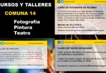 La Comuna 14 ofrece Talleres y Cursos gratuitos