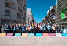 Lanzamiento del Tour de la Antorcha Olímpia