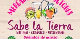 Mercado Sabe la Tierra en Palermo en el mes de marzo